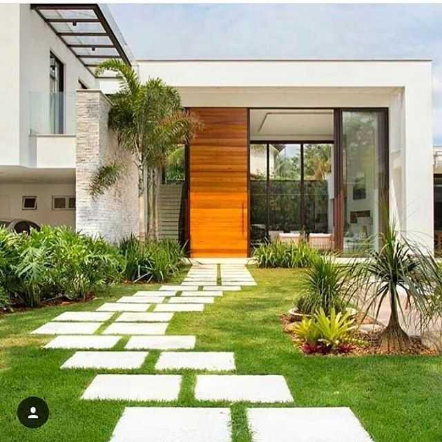 Desain 3 - Taman Mini Depan Rumah Teres