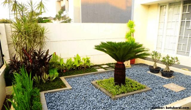 Desain 2 - Ide Taman Mini Depan Rumah Teres Yang Bisa Diterapkan Dirumahmu