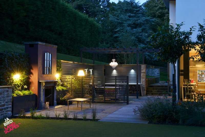 Desain 5 - Taman Mini Depan Rumah Teres