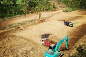 Proses persiapan lahan dpark city